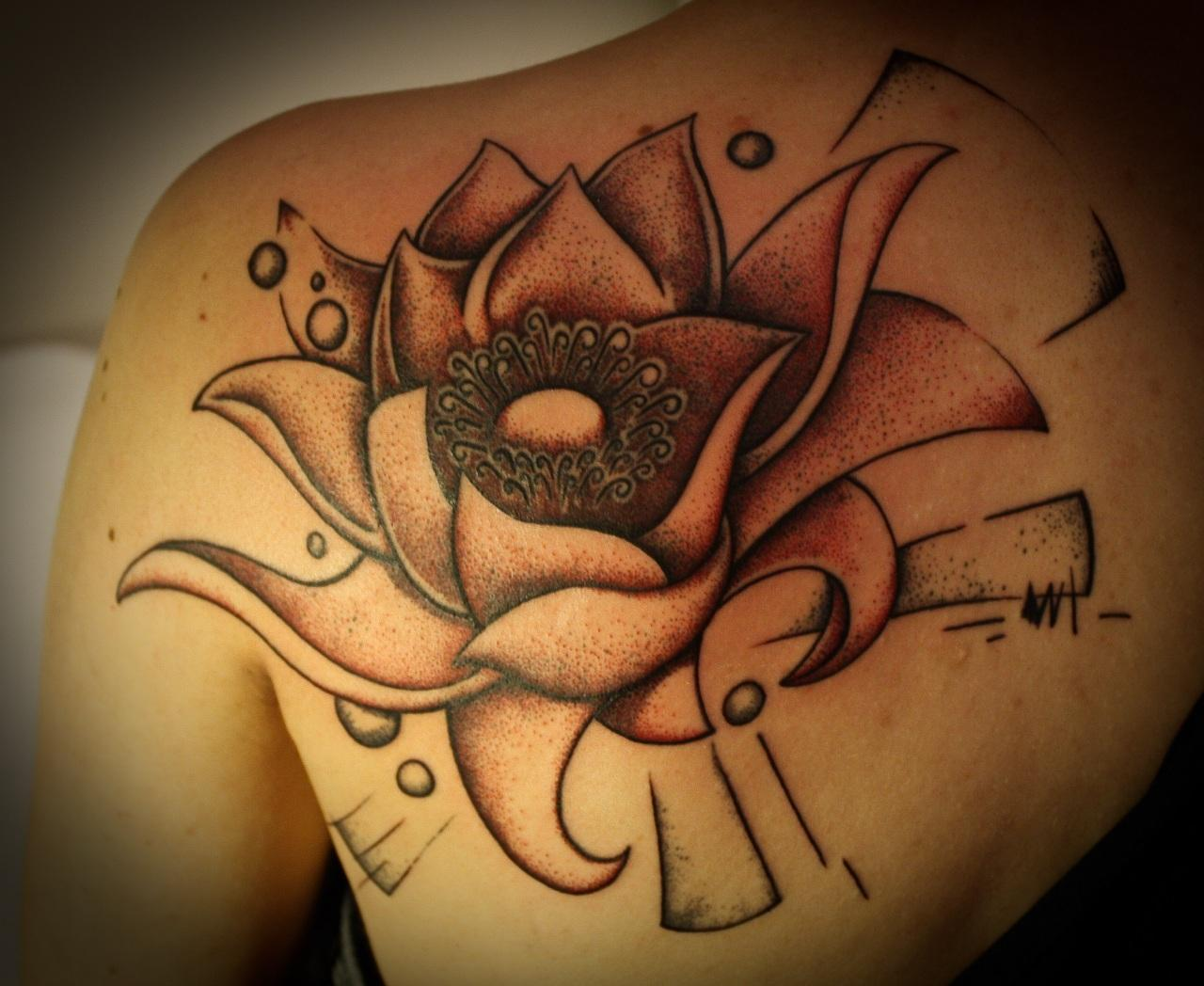 Lotus tattoos designs ideas and meaning tattoos for you for Lotus flower tattoo on shoulder