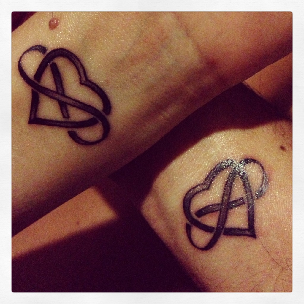 Love Infinity Tattoos