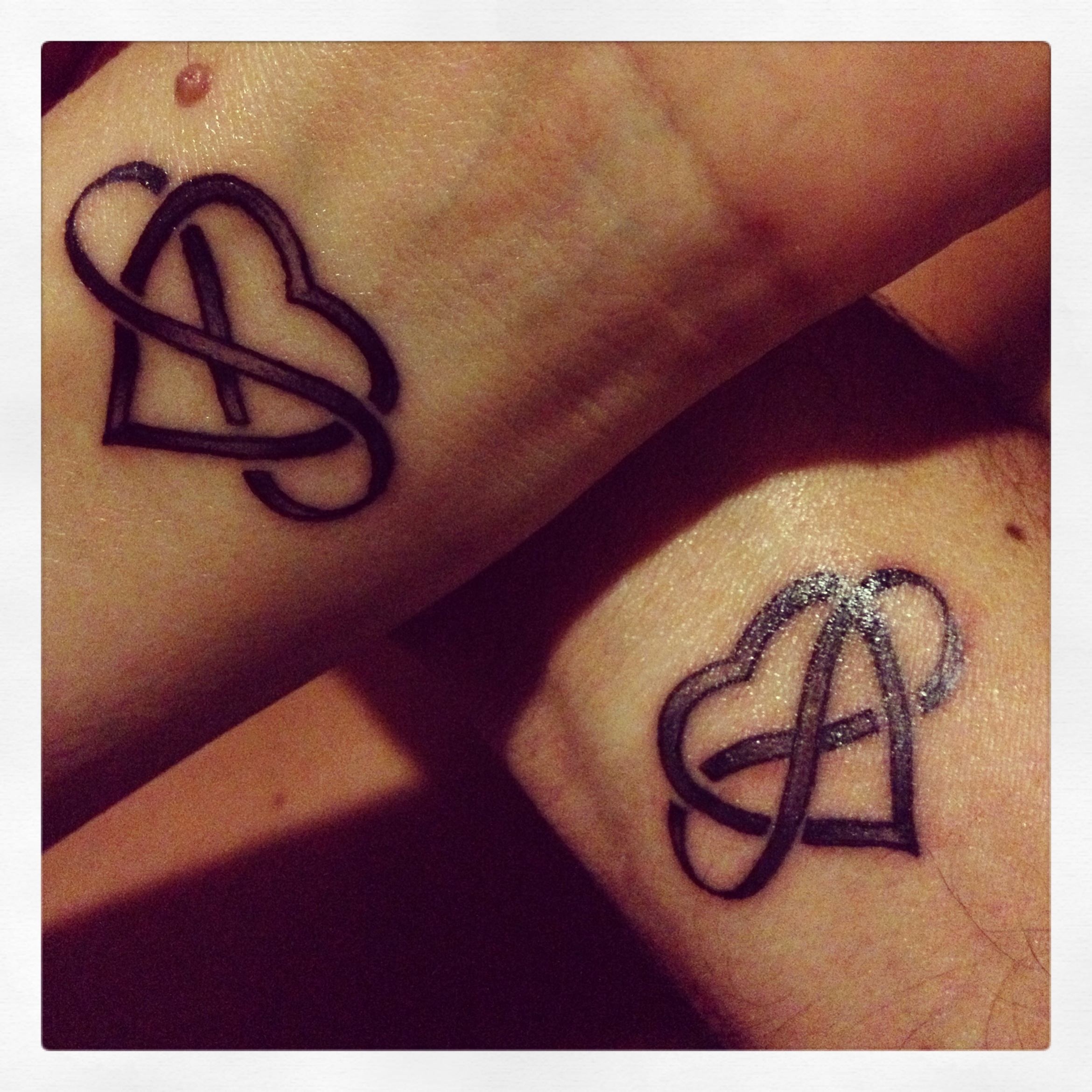 Infinity Love Tattoo Love infinity tattoos