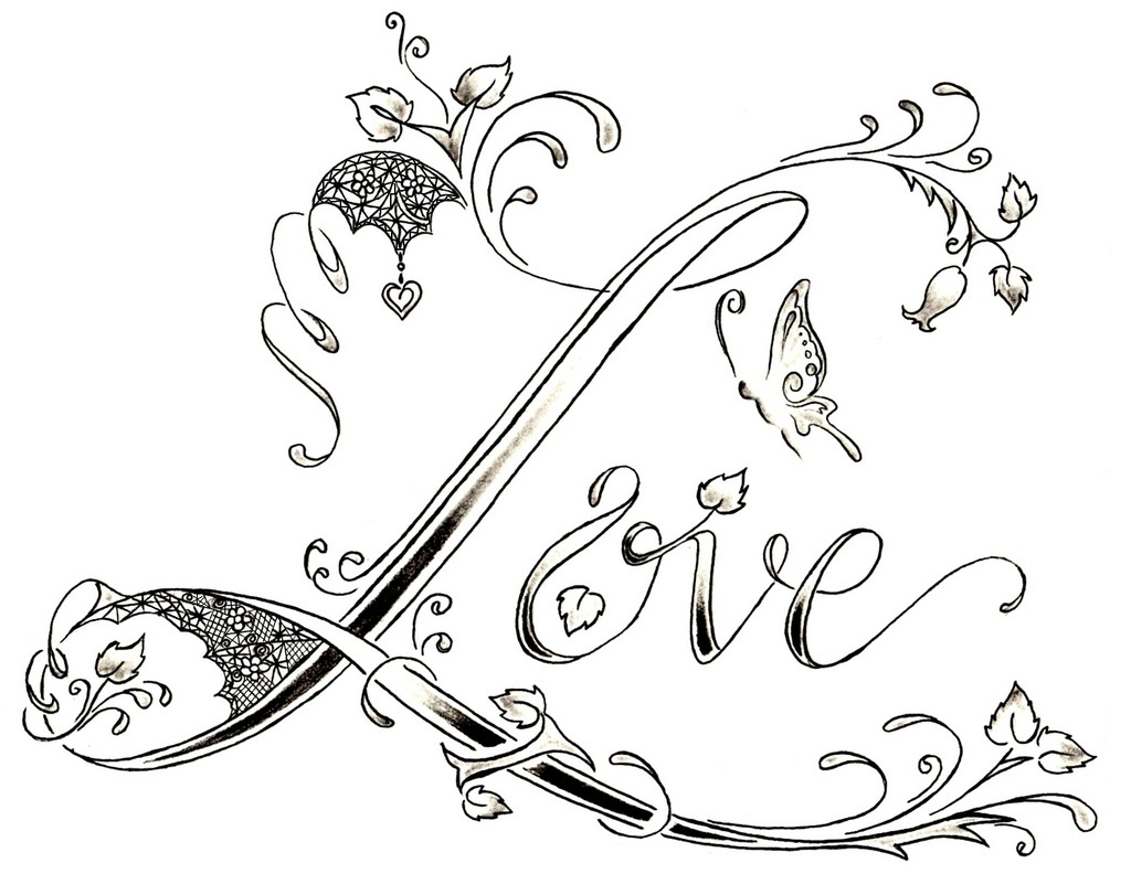 Dibujos De Love: Love Tattoos Designs, Ideas And Meaning