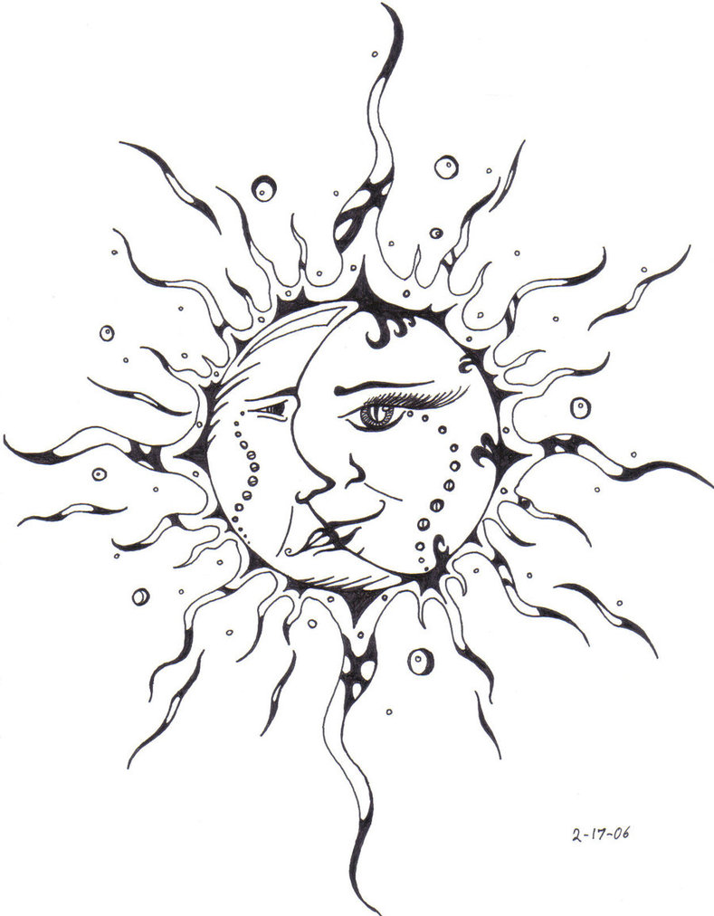 Sun Tattoos Designs, Ideas and Meaning | Tattoos For You