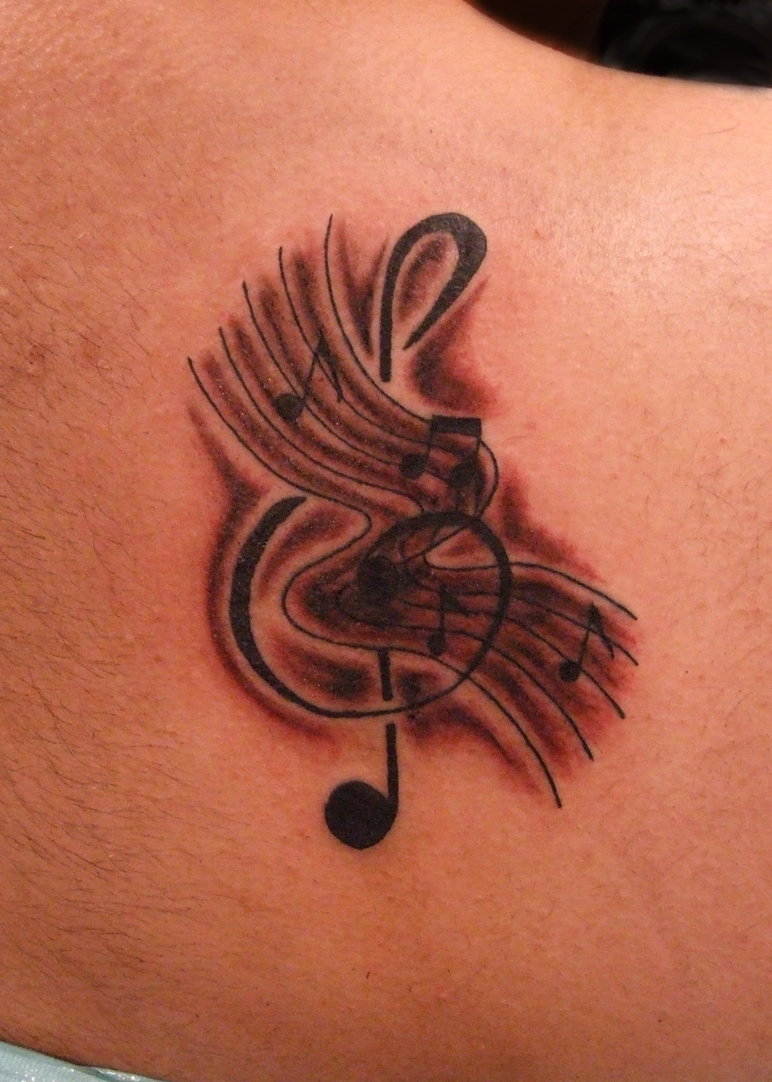 Music Tattoos Designs, Ideas and Meaning | Tattoos For You | 1581 x 2215 jpeg 1749kB