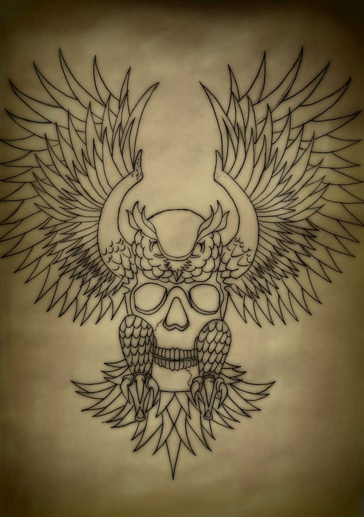 Owl tattoos designs ideas and meaning tattoos for you for Owl tattoo skull
