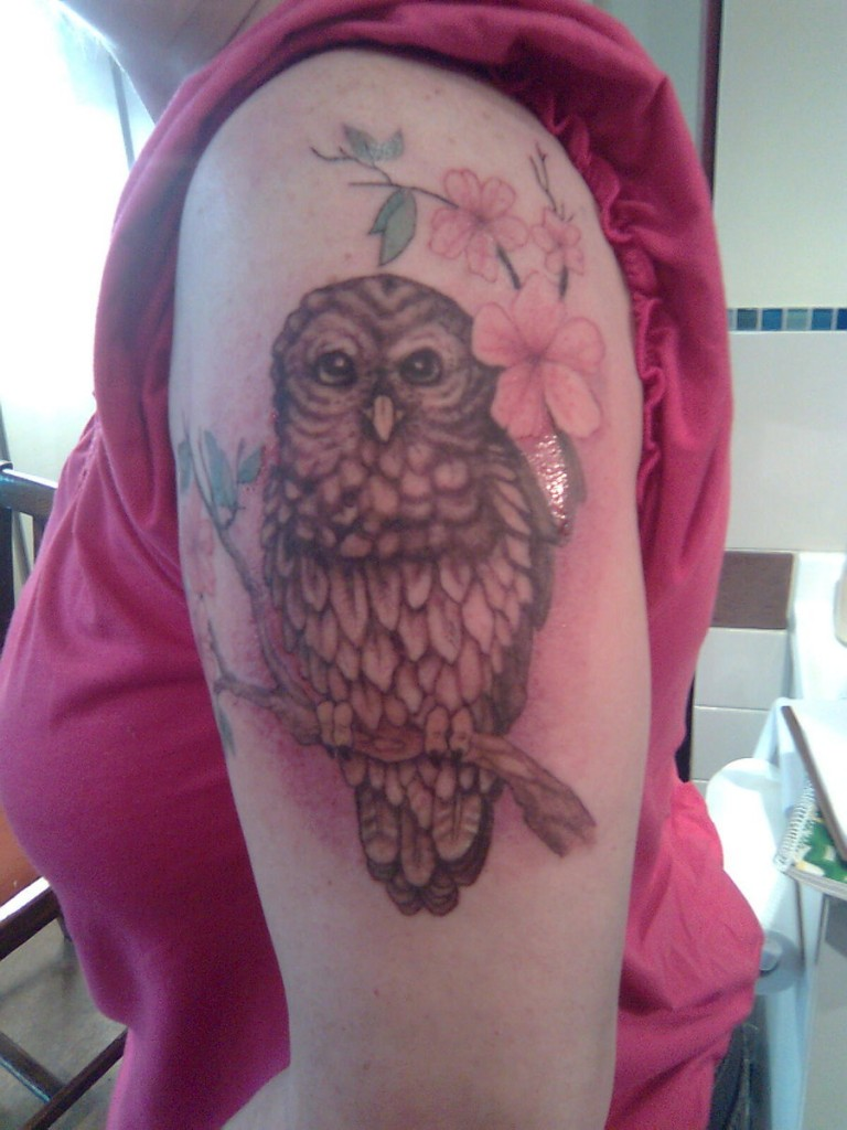 Owl Sleeve Tattoo: Owl Tattoos Designs, Ideas And Meaning