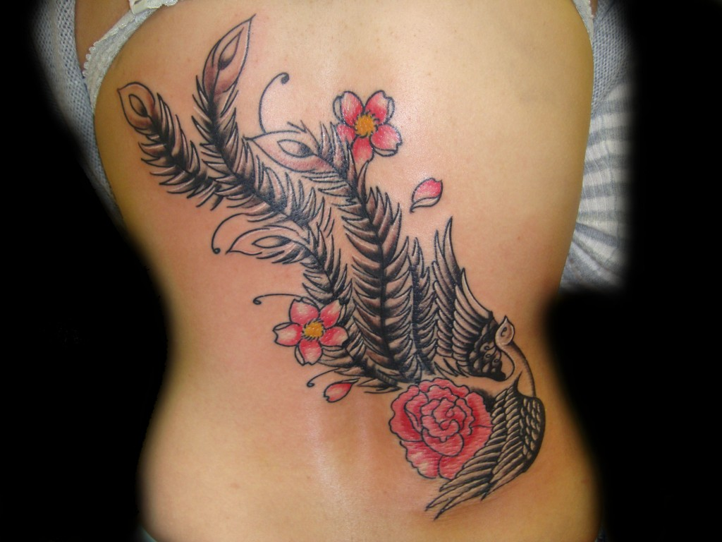 Peacock tattoos designs ideas and meaning tattoos for you for A feather tattoo meaning
