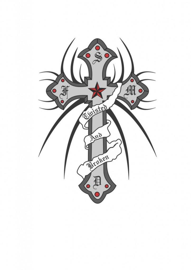 Pics of Cross Tattoos