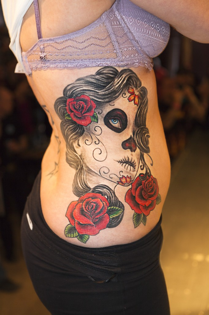 Pictures of Day of The Dead Tattoos