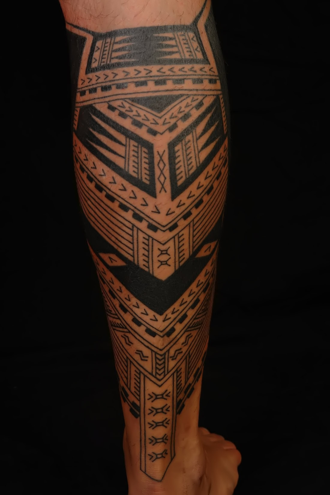 Polynesian tattoos designs ideas and meaning tattoos for Polynesian thigh tattoo