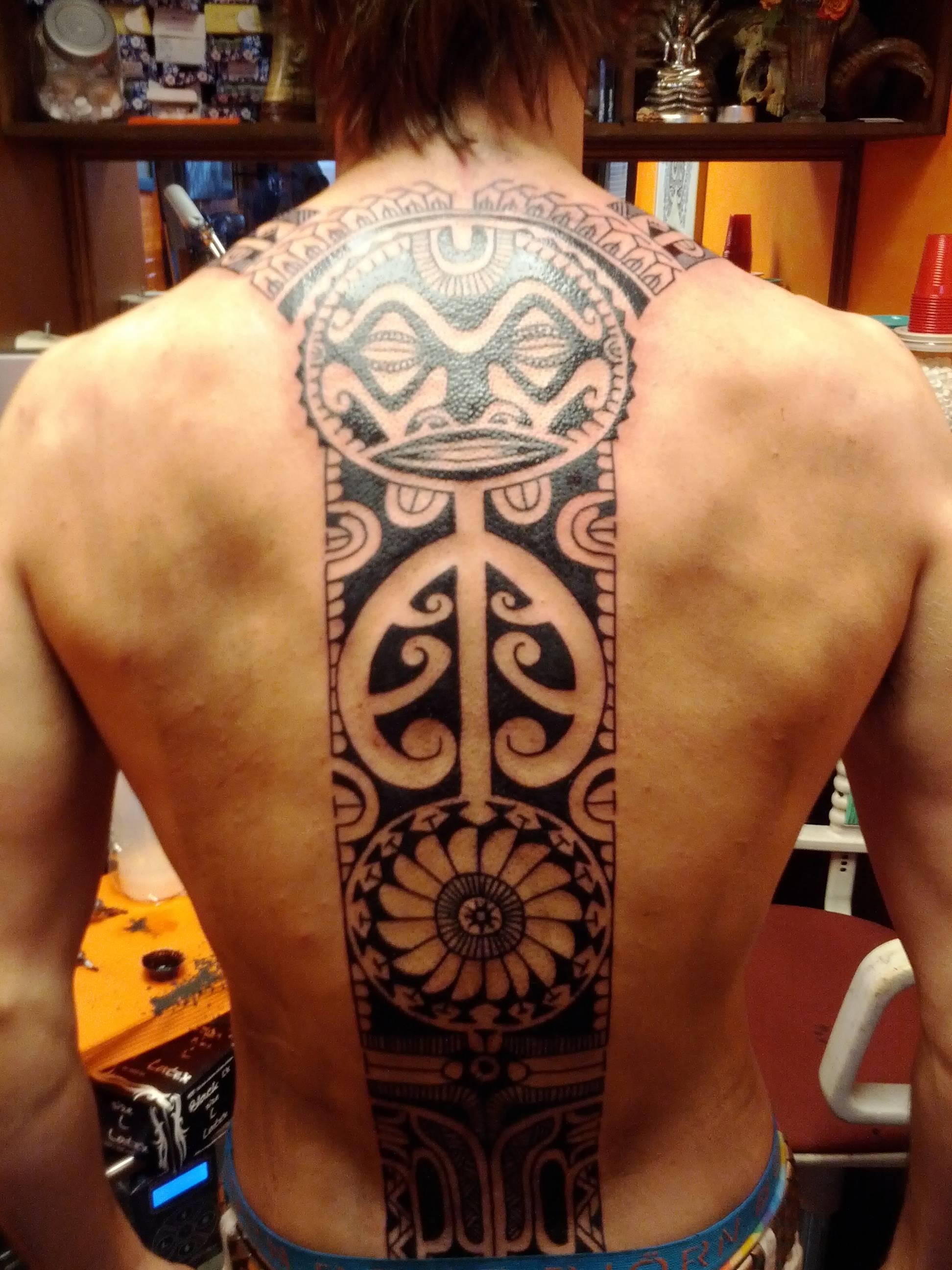 Polynesian Full Back Tattoos: Polynesian Tattoos Designs, Ideas And Meaning