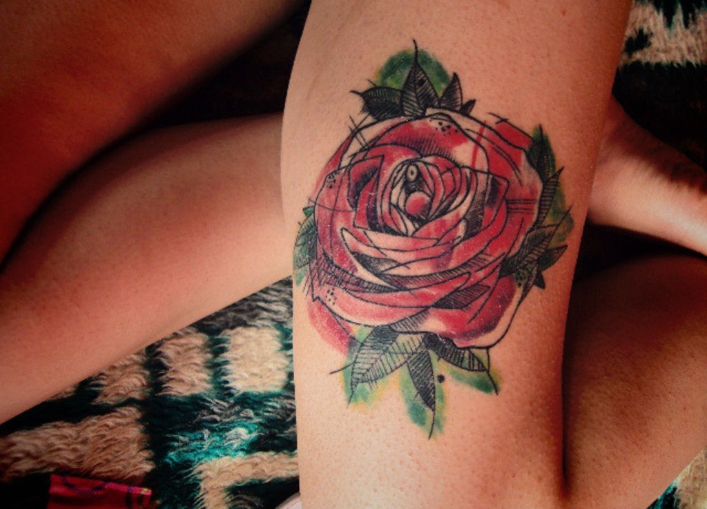 Black Women White Men Love >> Rose Tattoos Designs, Ideas and Meaning | Tattoos For You