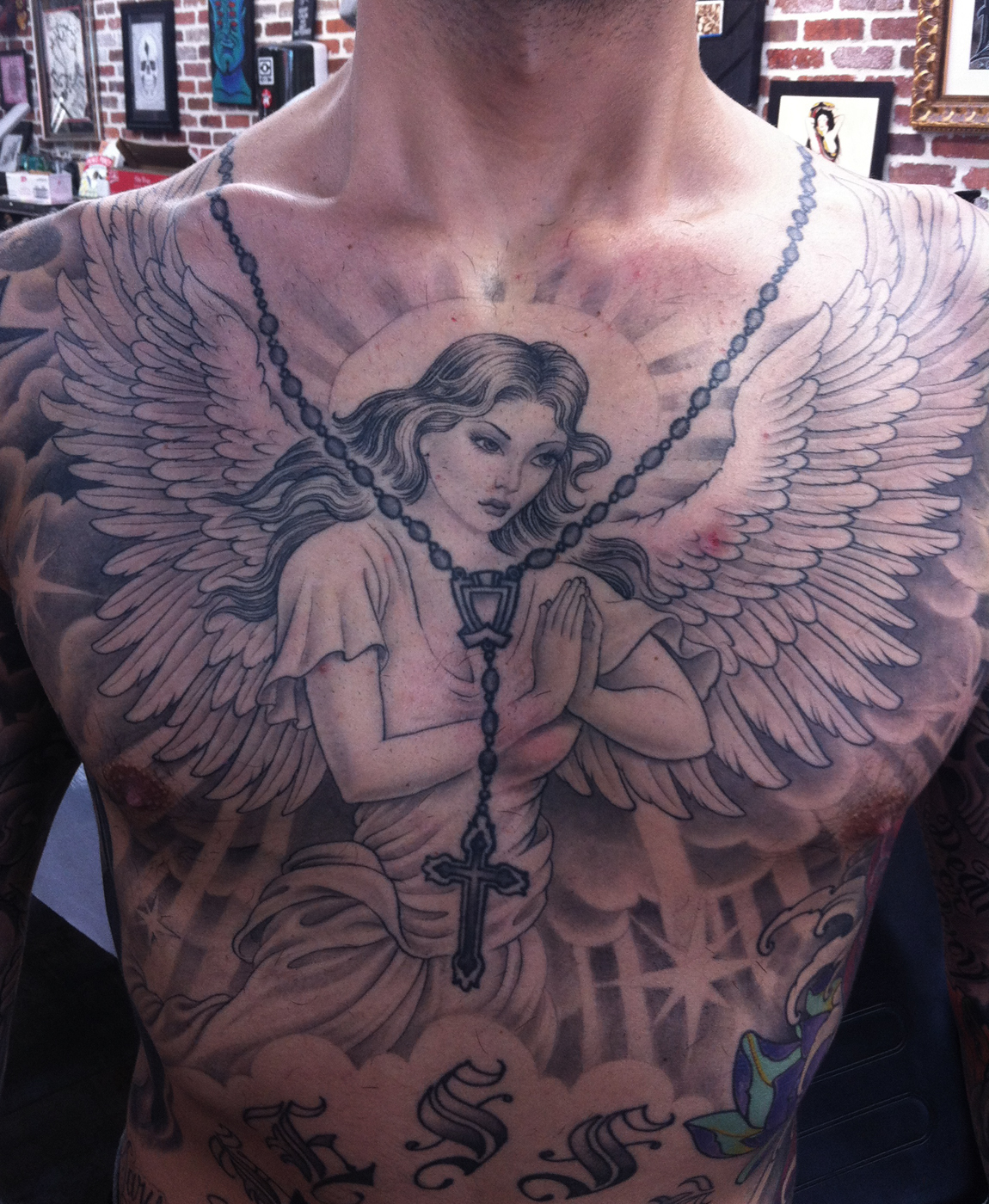 Chest Quote Tattoos Designs Ideas And Meaning: Religious Tattoos Designs, Ideas And Meaning