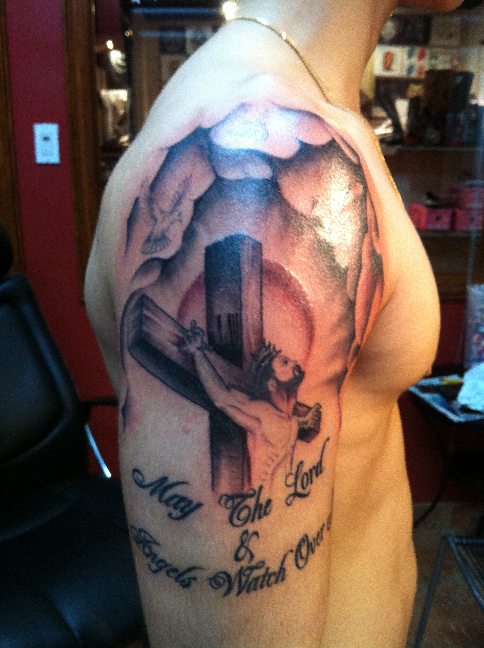 Religious tattoos designs ideas and meaning tattoos for you for Male tattoo ideas