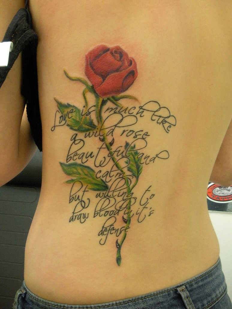 Rose Tattoos Designs, Ideas and Meaning | Tattoos For You