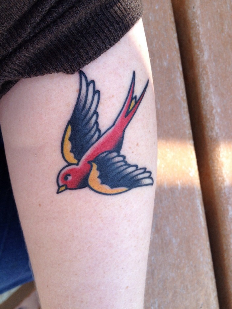 Swallow Tattoos Designs  Ideas and MeaningSailor Jerry Swallow Tattoo