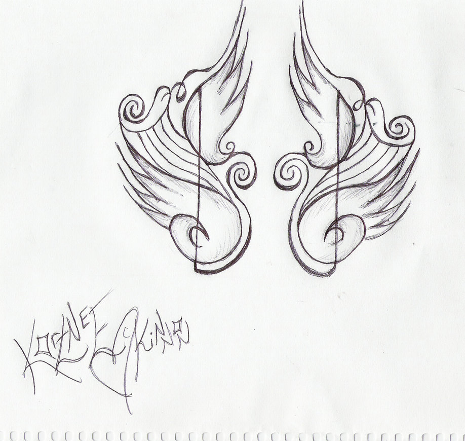 Music tattoos designs ideas and meaning tattoos for you for Tattoo designs to draw