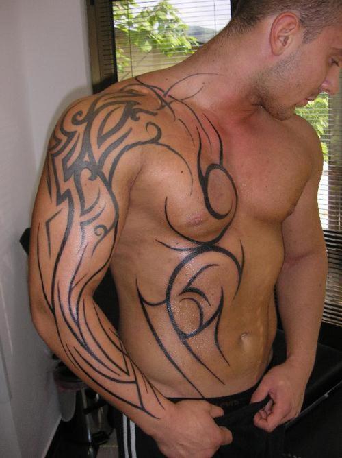 Shoulder Tribal Tattoos
