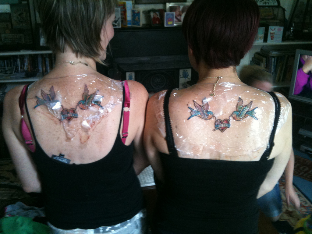 Sister Tattoo Designs