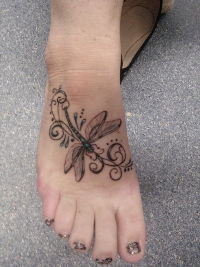 Dragonfly tattoos designs ideas and meaning tattoos for you for Feminine tattoos with meaning