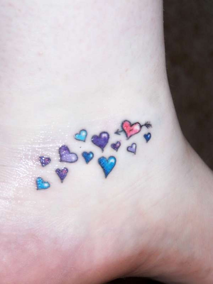 Heart tattoos designs ideas and meaning tattoos for you for Small heart tattoos on wrist