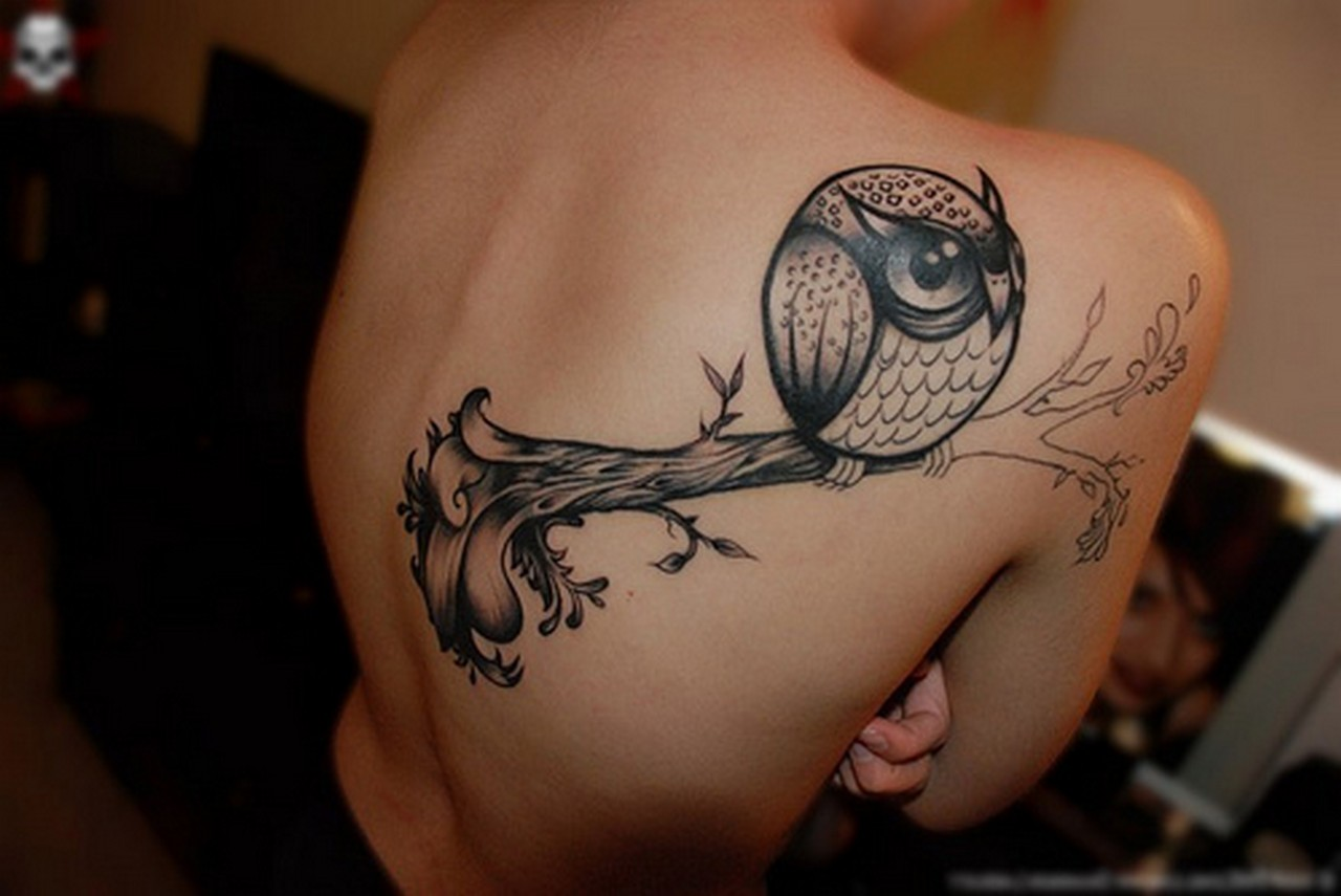 Owl Tattoos On Wrist: Owl Tattoos Designs, Ideas And Meaning