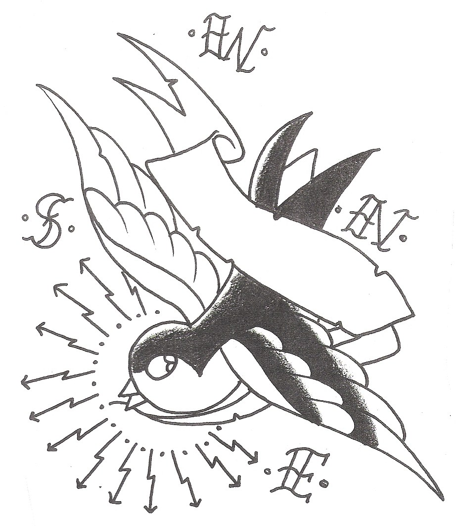 Sparrow Tattoos Designs, Ideas and Meaning | Tattoos For You Black Sparrow Tattoo Designs