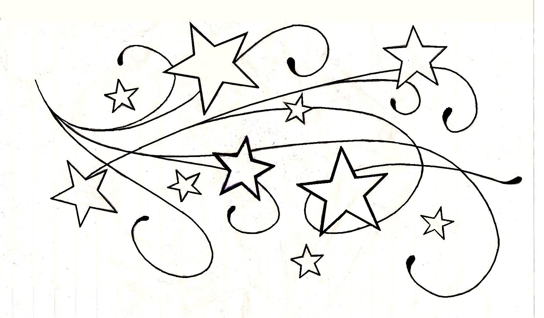 Star design tattoos for wrists hurt