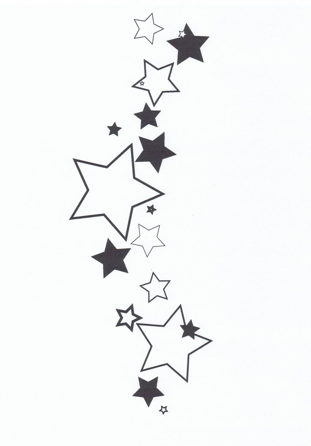 This is a photo of Refreshing Drawing Of Stars