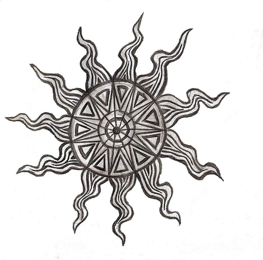 Sun Design Images Sun Tattoos Des...