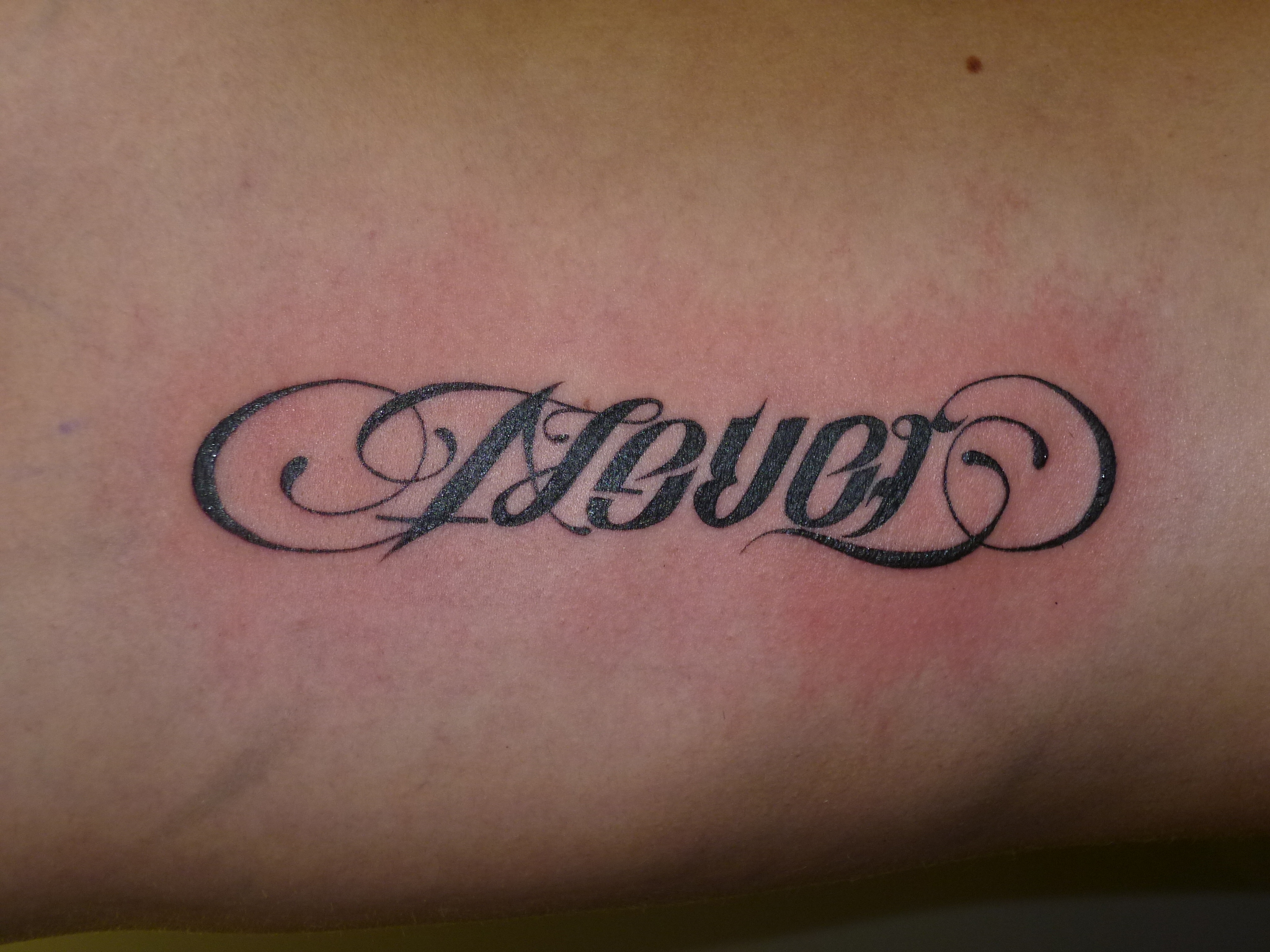 Ambigram Tattoos Designs, Ideas and Meaning