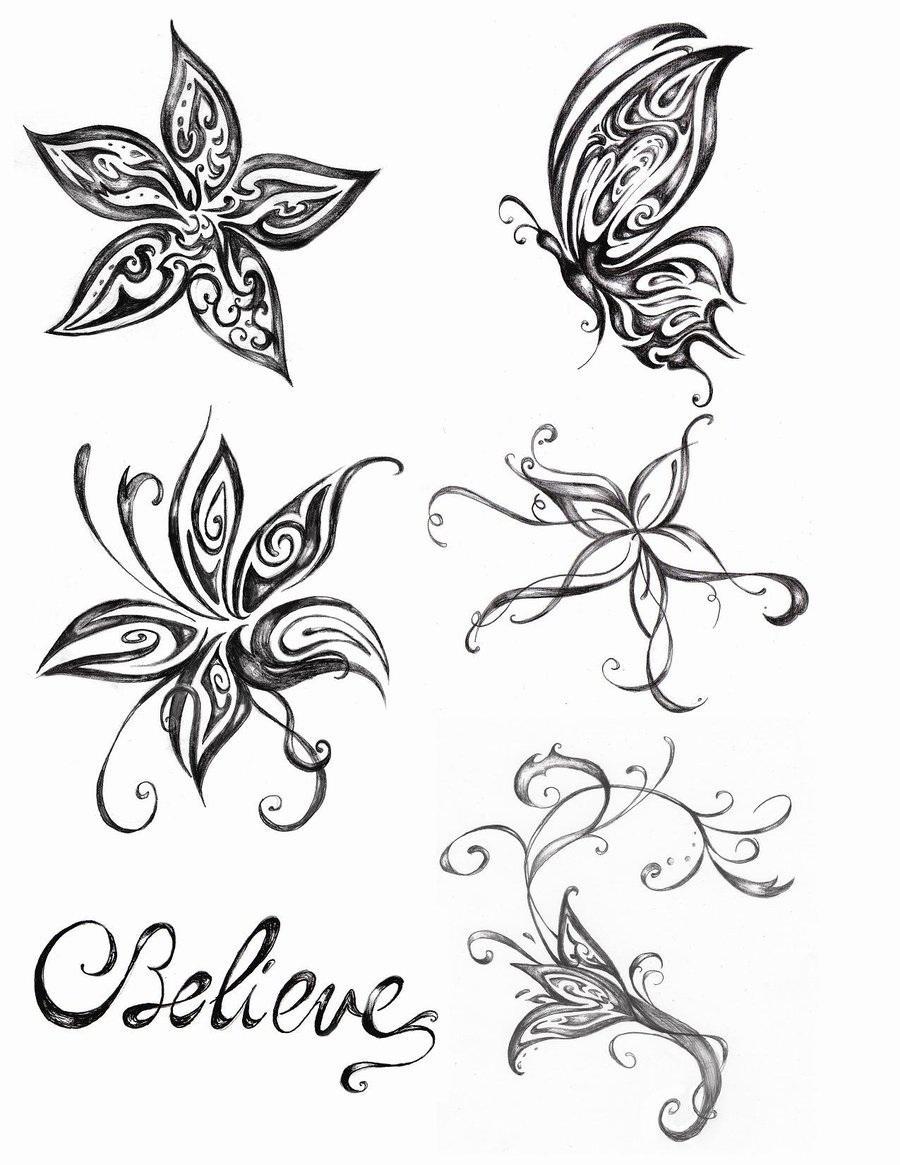 Simple Flower Tattoo Designs Korean Artists 2018 Korean Artists