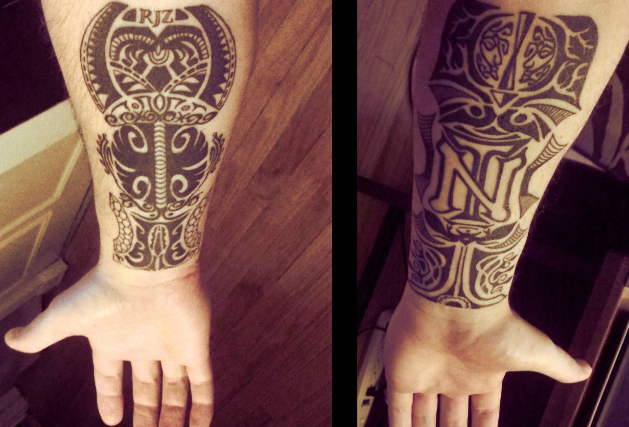 Cover up tattoos designs ideas and meaning tattoos for you for Tattoo sleeve cover up forearm