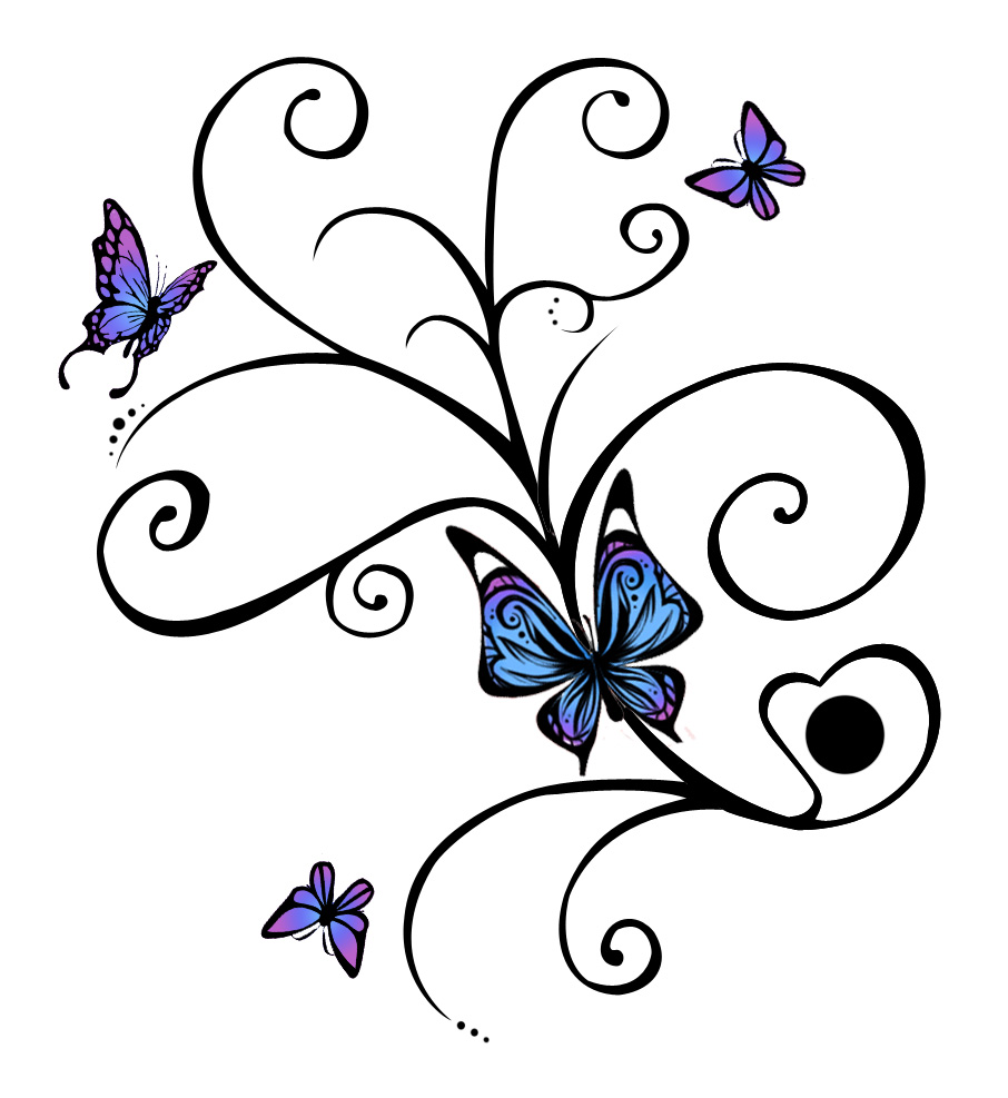 Butterfly tattoos designs ideas and meaning tattoos for you - Tatouage de papillon ...