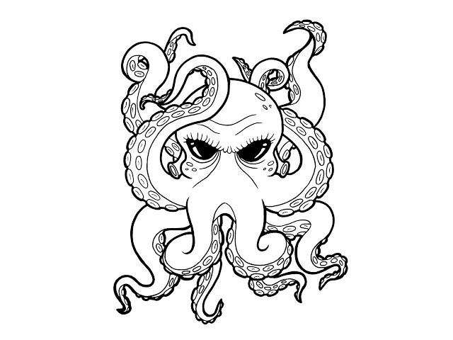 Tattoos of Octopus