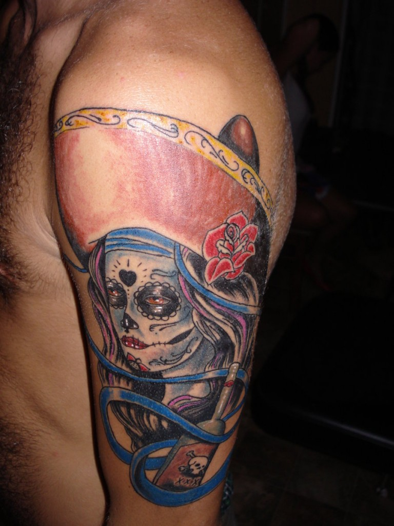 The Day of The Dead Tattoos