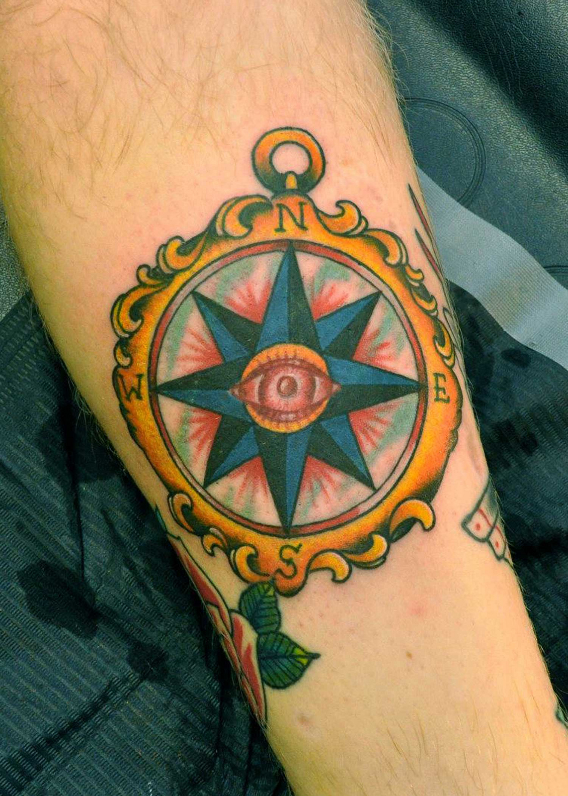 Traditional Compass Tatoo: Traditional Tattoos Designs, Ideas And Meaning