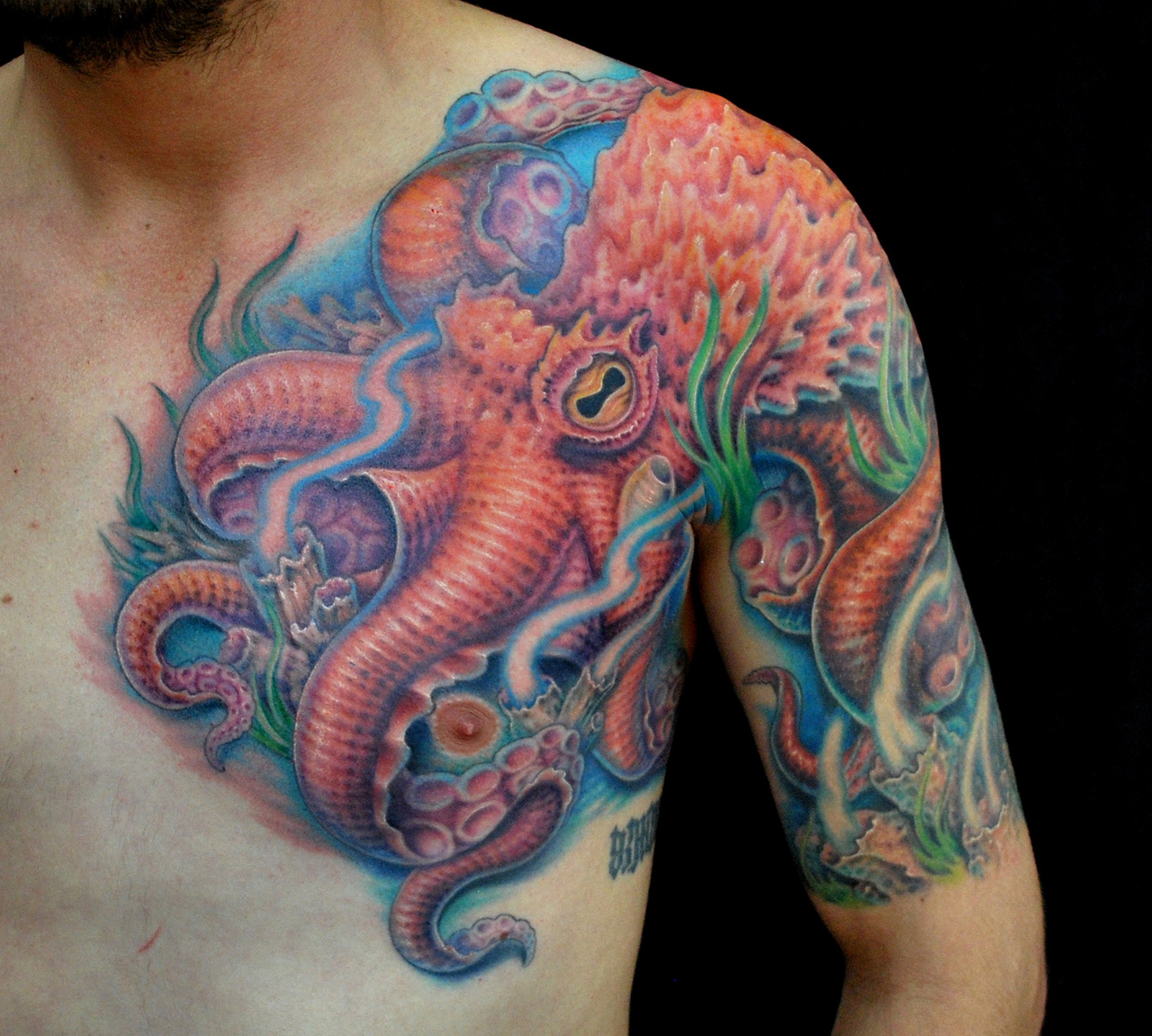 Mermaid Tattoo Designs as well Tattoo Pain Chart as well 28 Fancy Japanese Tattoo Art Designs besides Star Wars Sleeve Tattoo likewise Japanese Dragon Tattoo Designs For Men. on shoulder scales tattoo