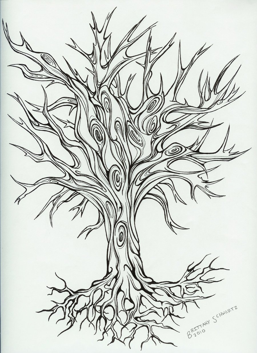 Line Art Printing And Design : Tree tattoos designs ideas and meaning for you