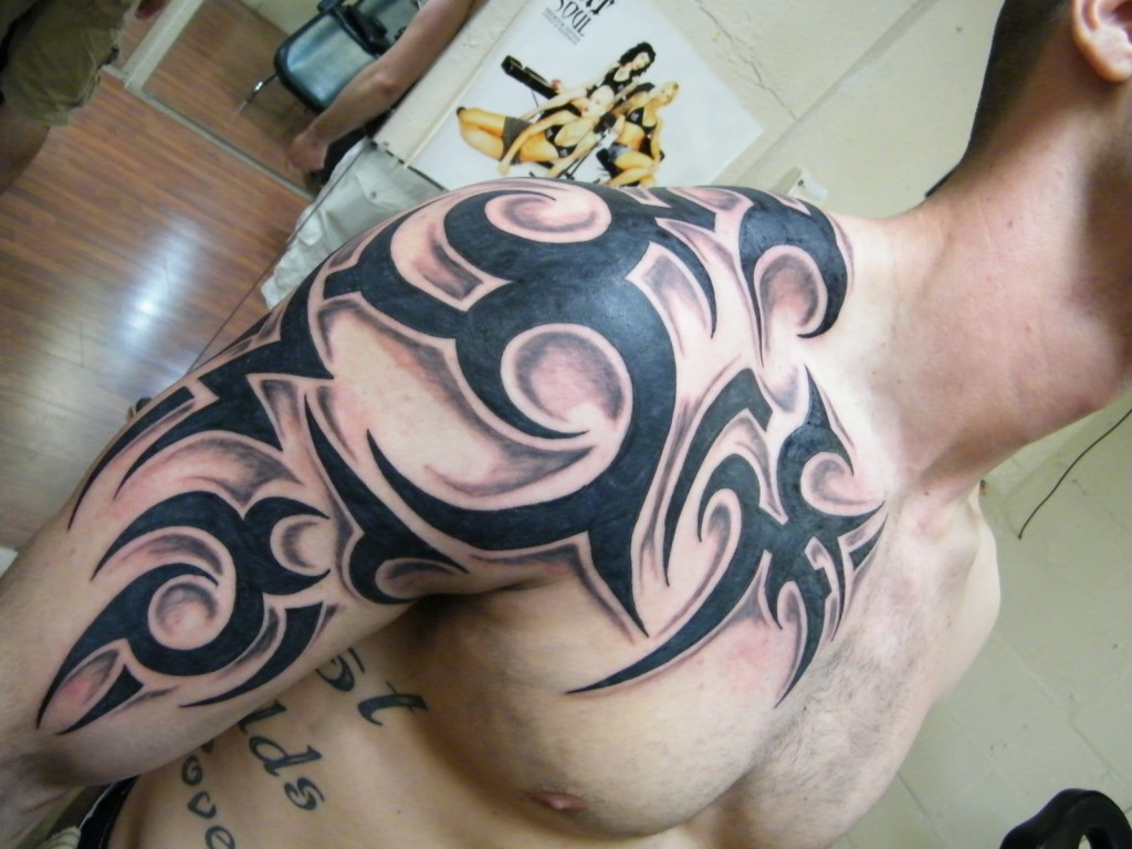 Tribal tattoos designs ideas and meaning tattoos for you for Tribal tattoos for men forearm