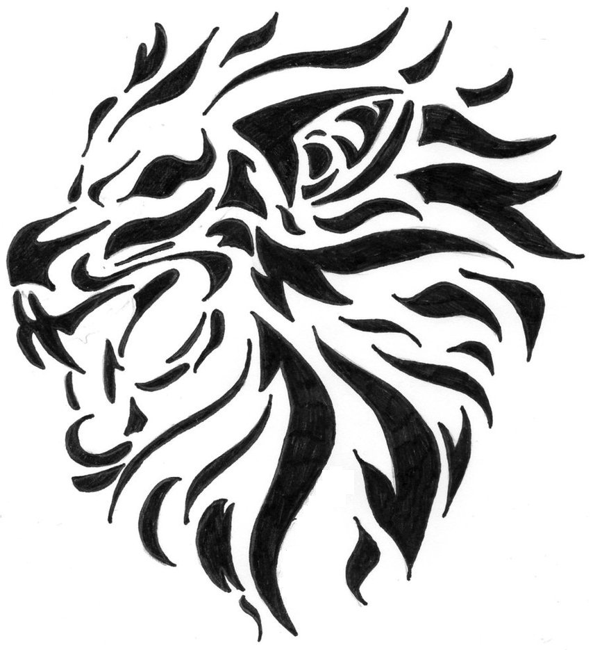 Tattoo Drawings: Lion Tattoos Designs, Ideas And Meaning