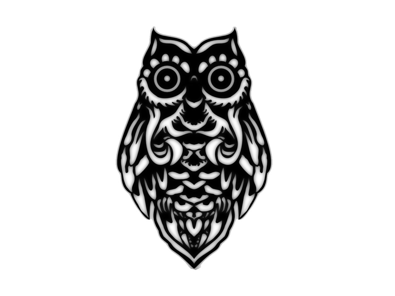 Owl tattoos designs ideas and meaning tattoos for you for Tribal owl tattoo