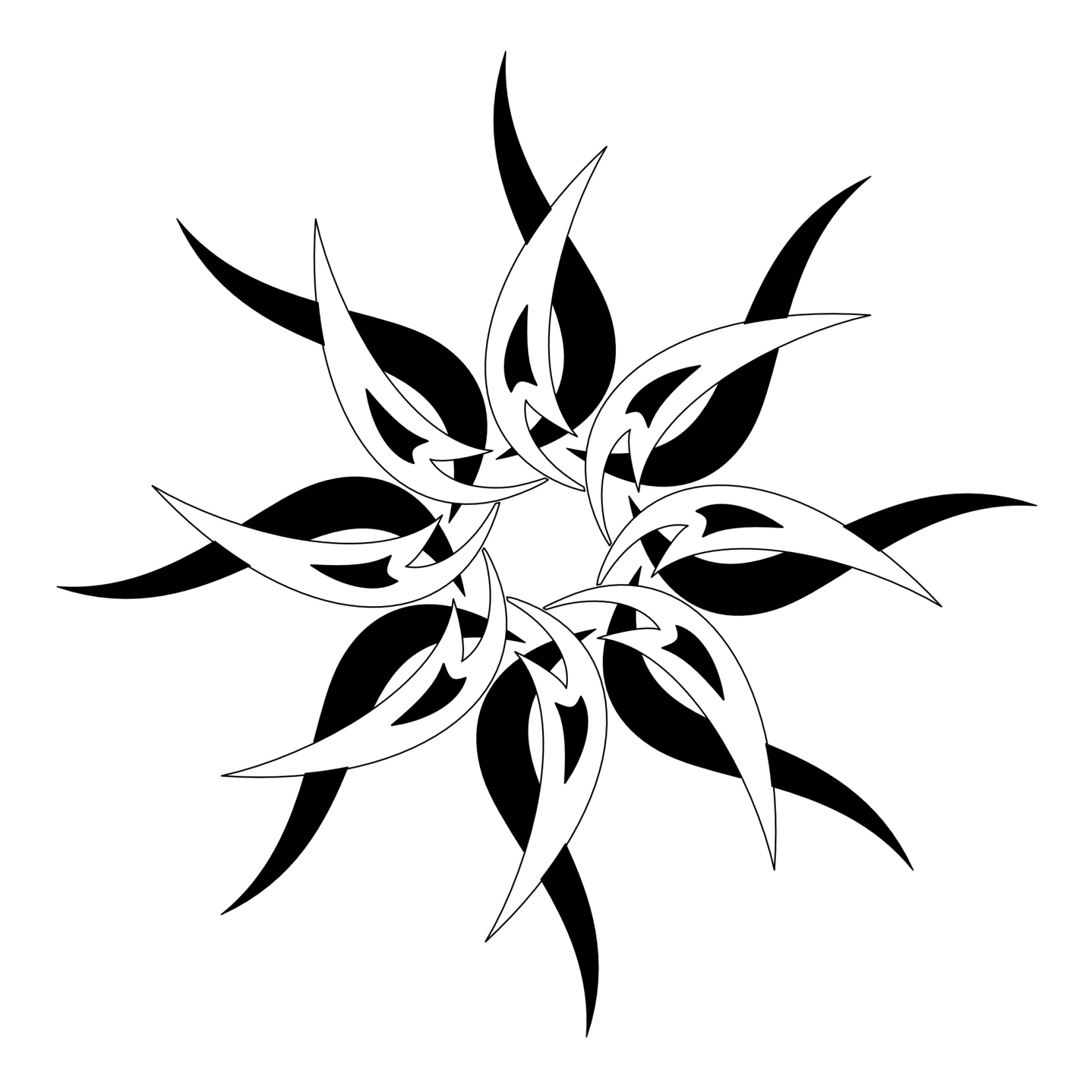 fbc083db2 Sun Tattoos Designs, Ideas and Meaning | Tattoos For You. Tribal Aztec Moon  and Sun Temporary Tattoo - GOimprints