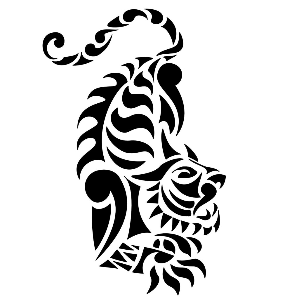 Pictures Of Tribal Tiger Tattoo Designs Rock Cafe
