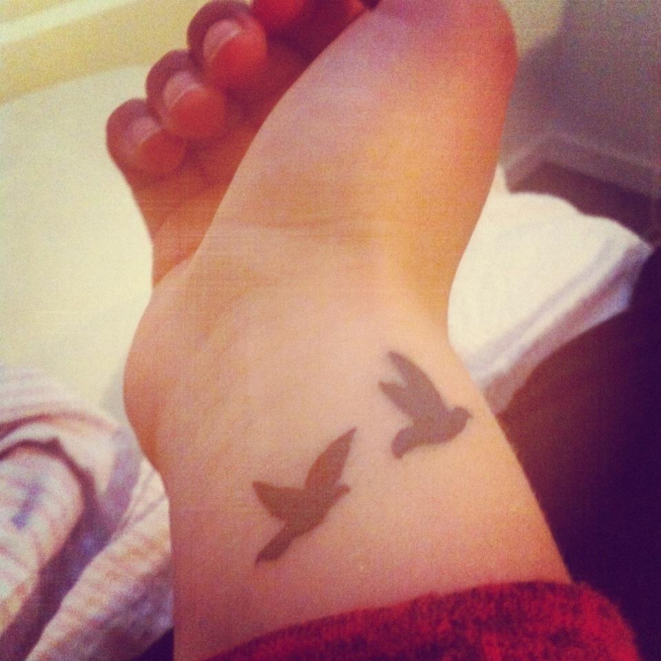 Two Bird Tattoo Symbolism Www Topsimages Com