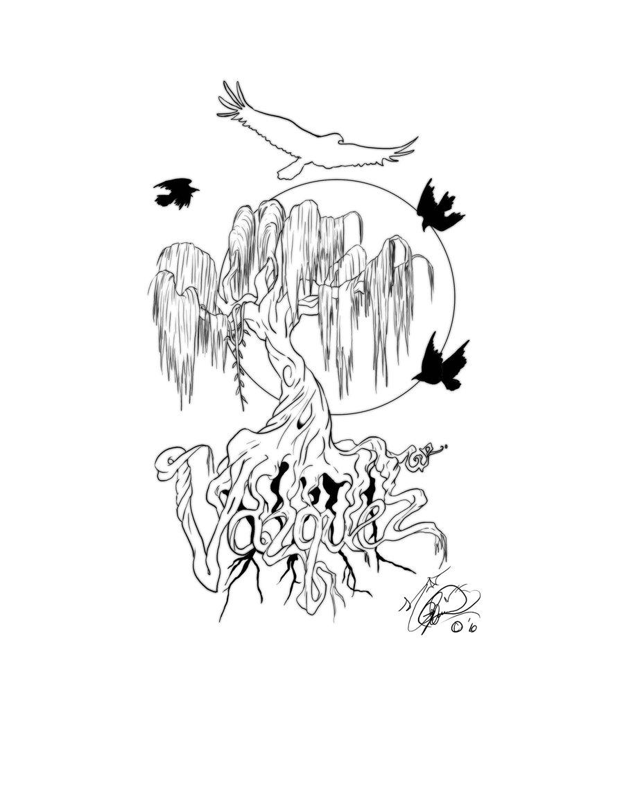 Dead Willow Tree Drawing Willow Tree Tattoo