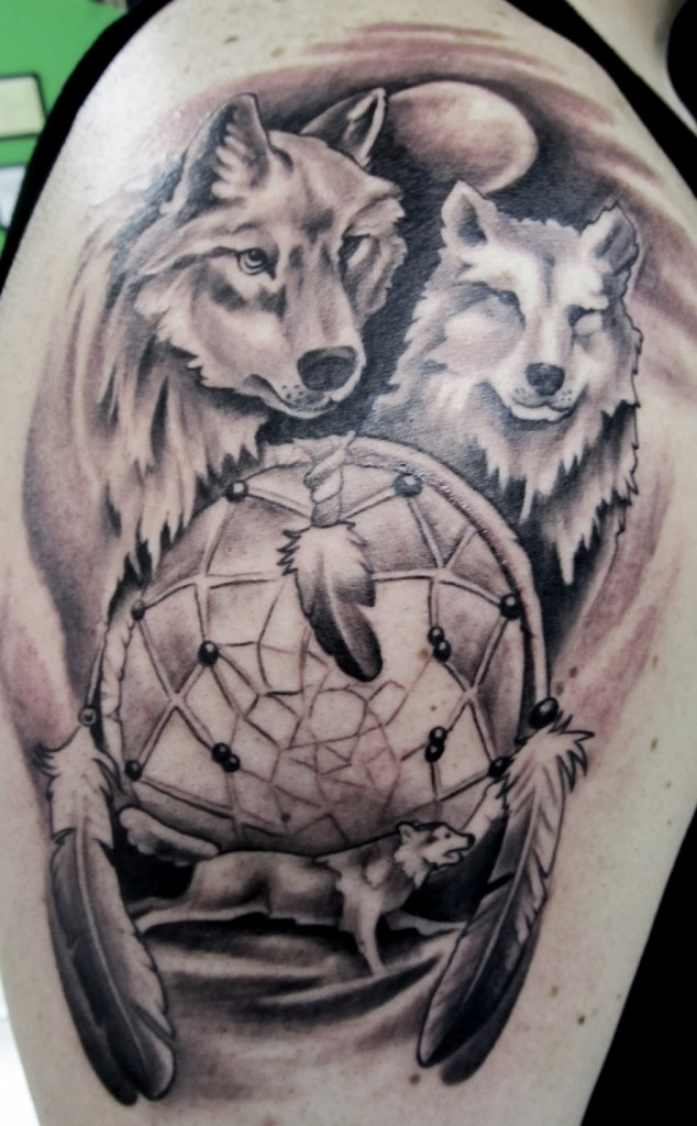 Wolf Tattoos Designs, ...