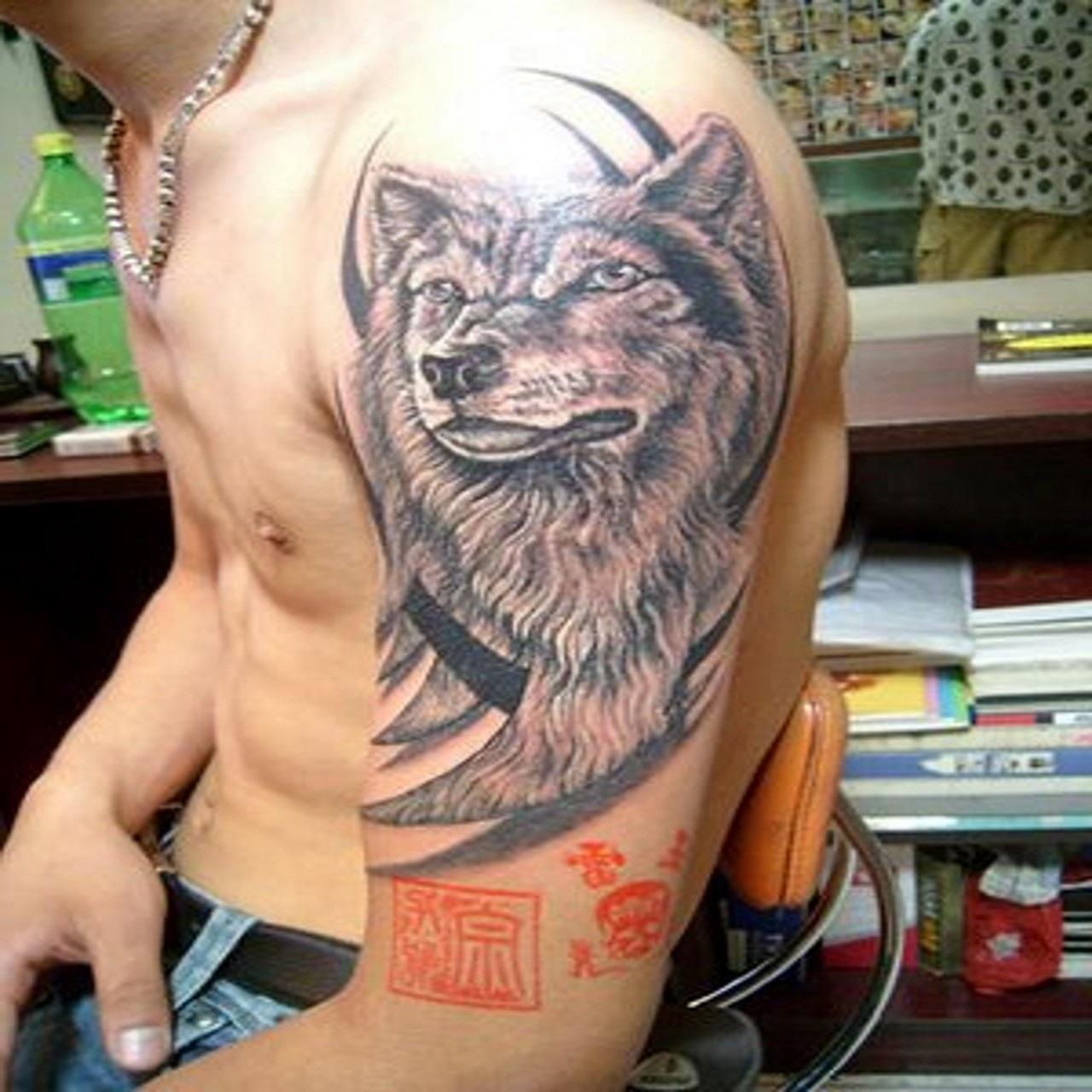 Wolf Tattoo Design Ideas For Men And Woman: Wolf Tattoos Designs, Ideas And Meaning