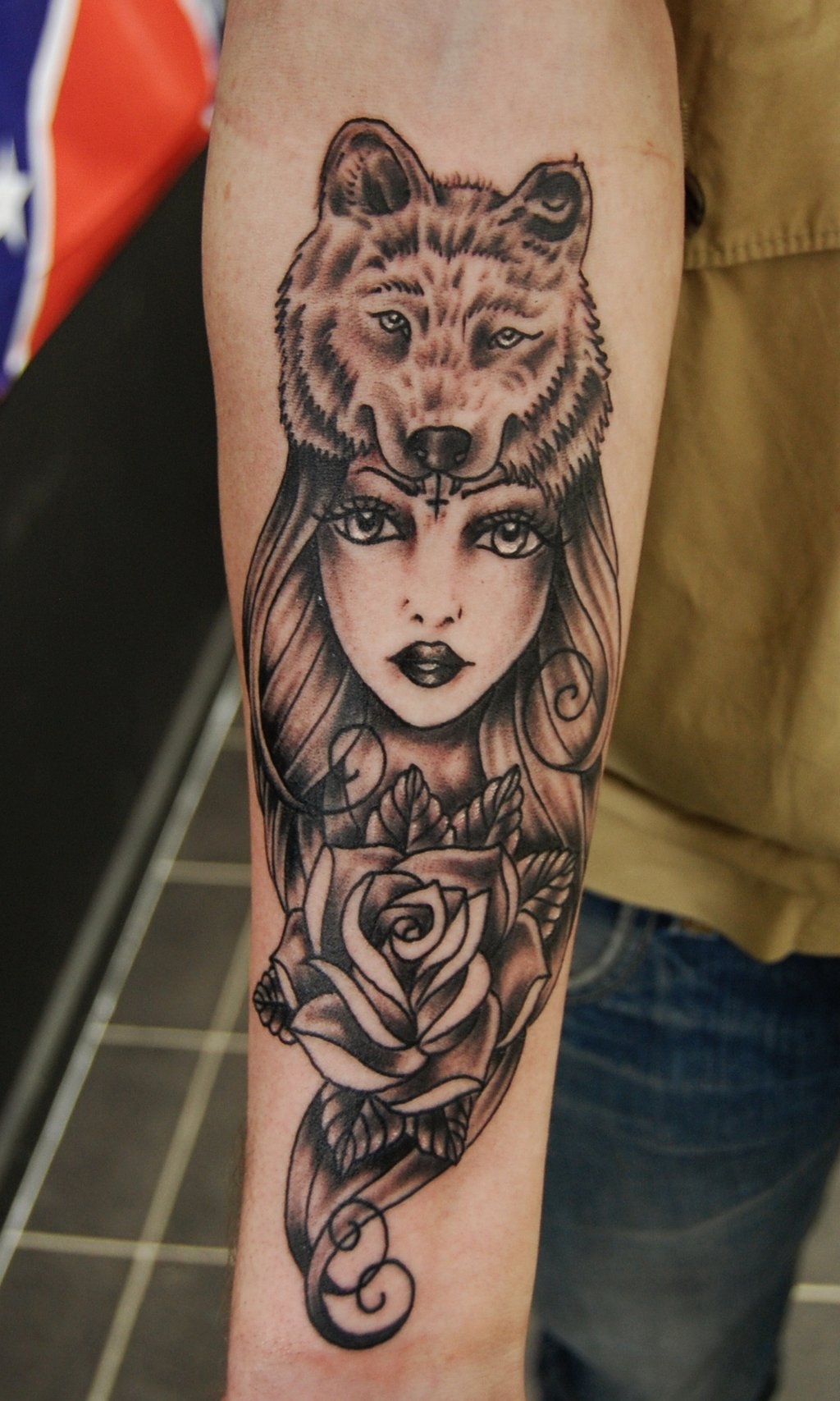 For Women Long Hairstyles And: Wolf Tattoos Designs, Ideas And Meaning