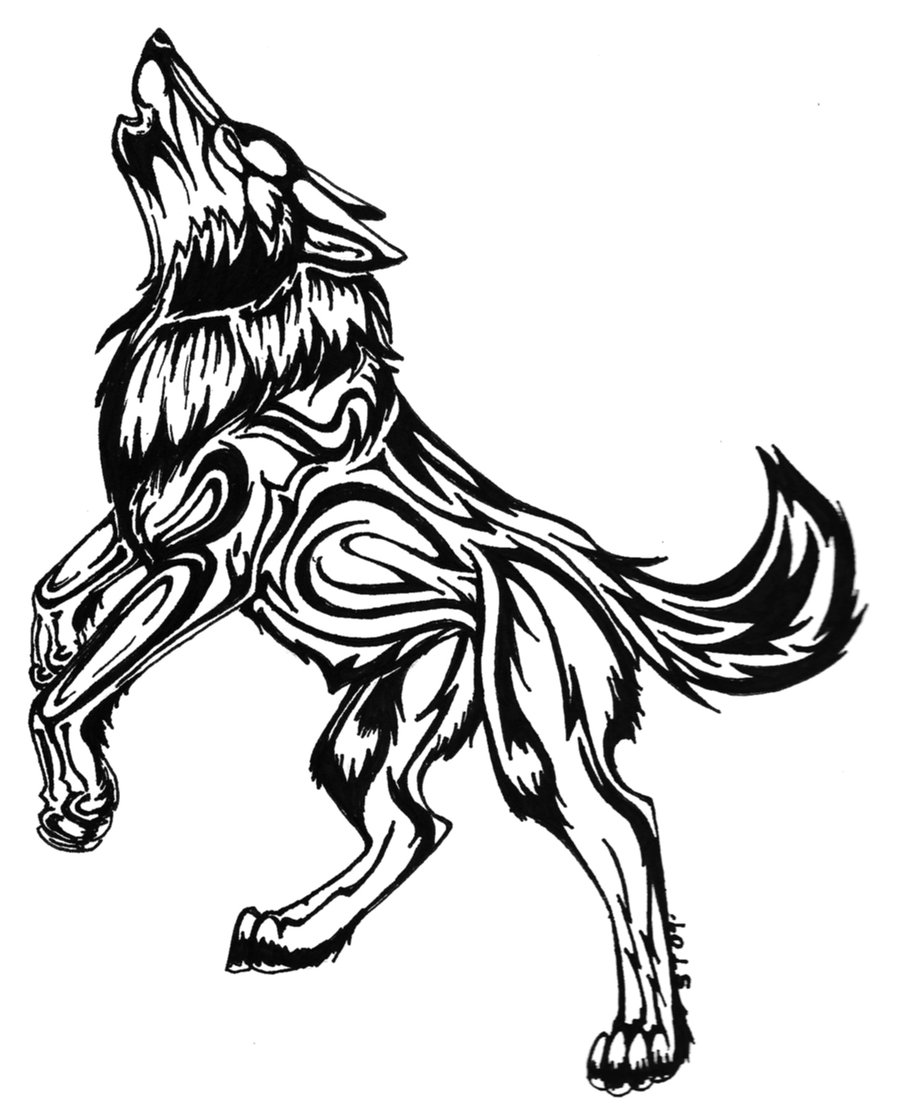 Wolf tattoos designs ideas and meaning tattoos for you for Black and white tattoo artists