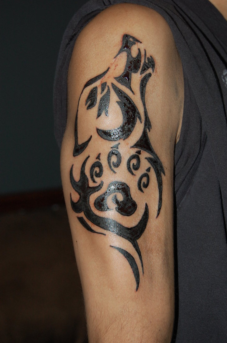 Tribal Tattoo Symbol: Wolf Tattoos Designs, Ideas And Meaning