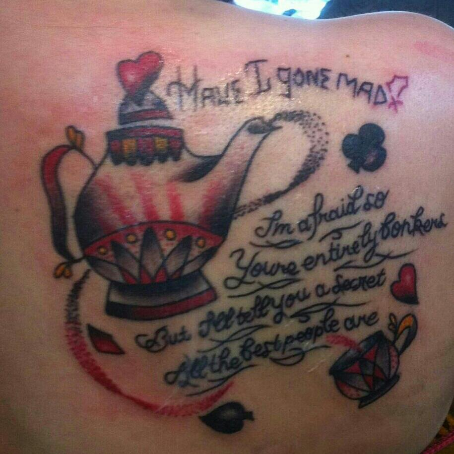 Alice In Wonderland Quote Tattoos: Alice In Wonderland Tattoos Designs, Ideas And Meaning